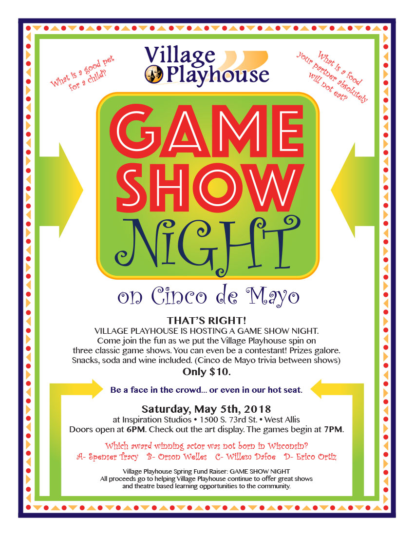 Game Night Flyer