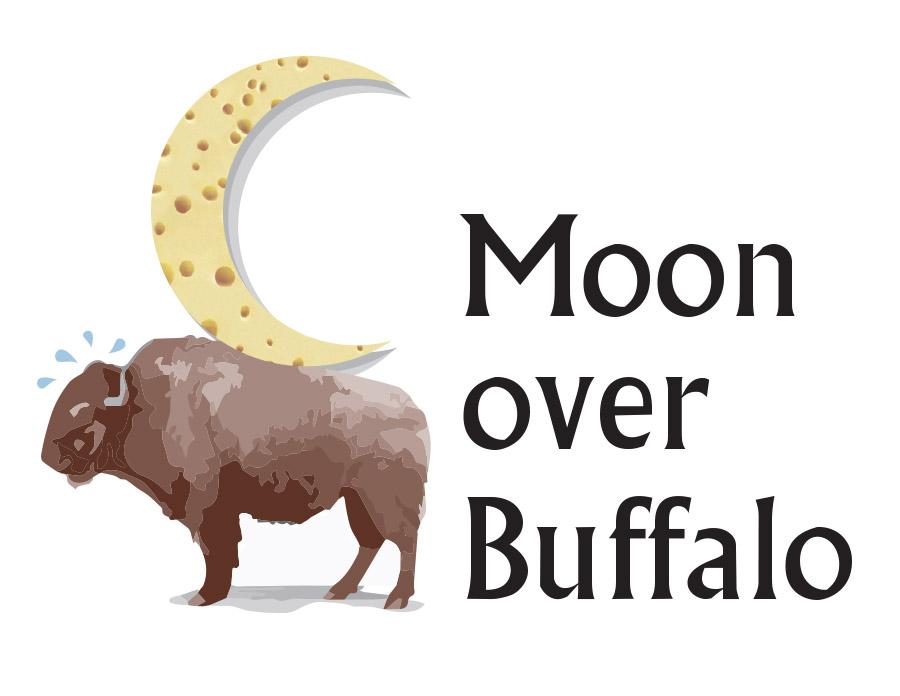 Moon over Buffalo art