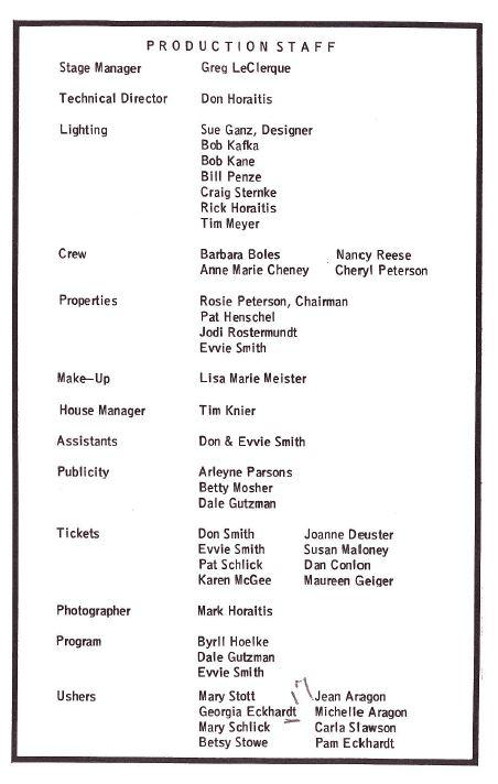 Cole Porter Crew
